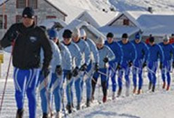 APU Nordic Skiers at Hatcher's Pass