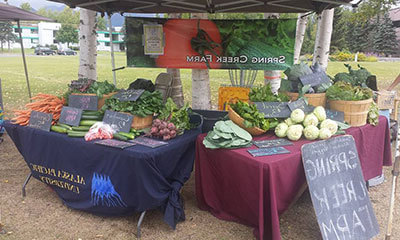 Farmer's Market on APU Campus